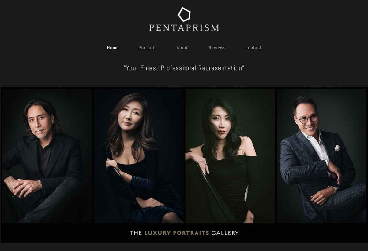 penta prism Top Portrait Photography Studios in Singapore