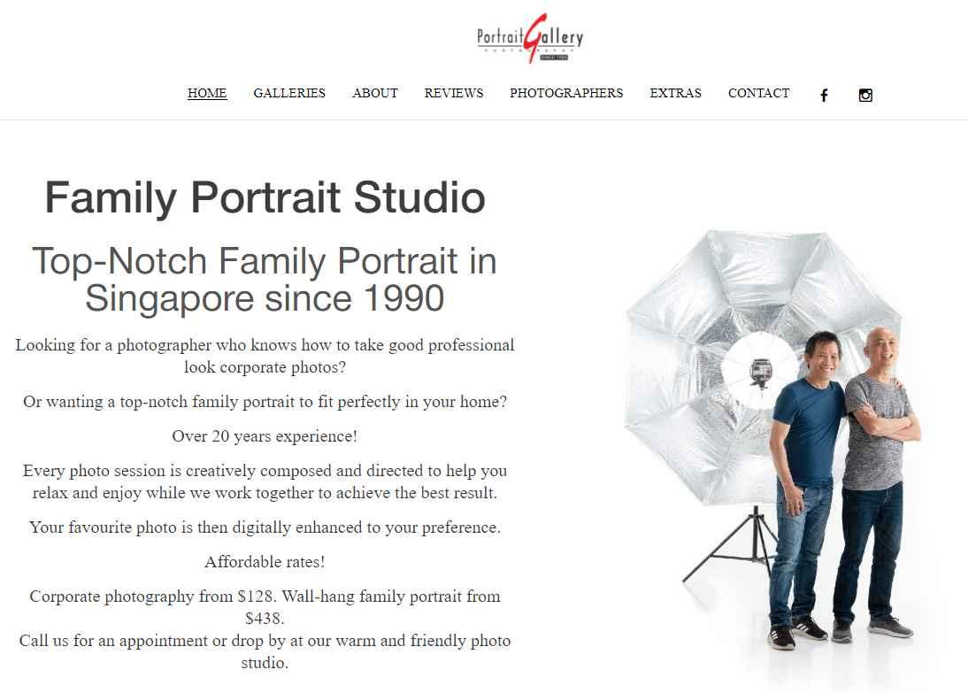 portrait gallery Top Portrait Photography Studios in Singapore