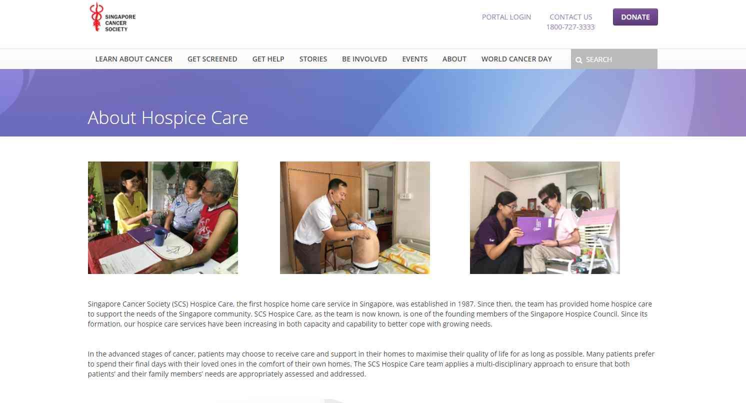 singapore cancer Top Hospice Care Services