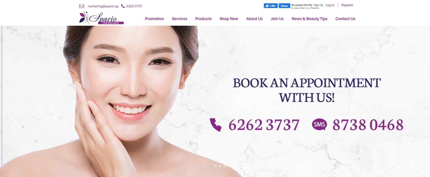 spacio Top Deep Tissue Massage Services In Singapore
