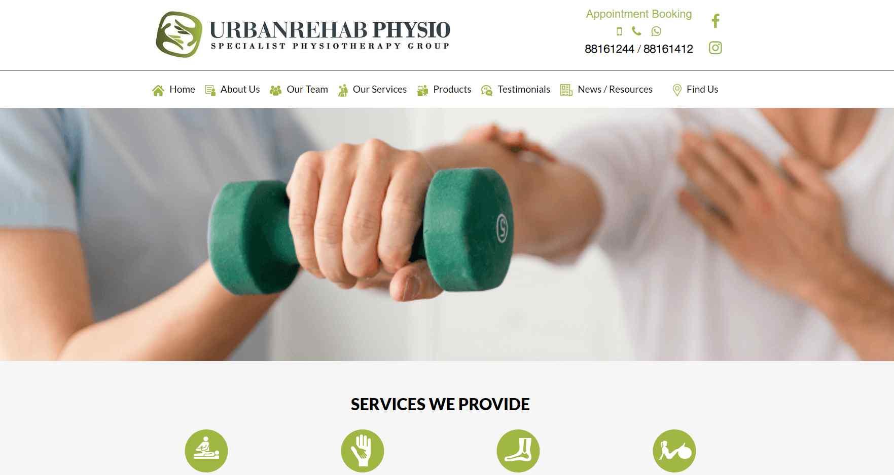 urban rehab Top Deep Tissue Massage Services In Singapore