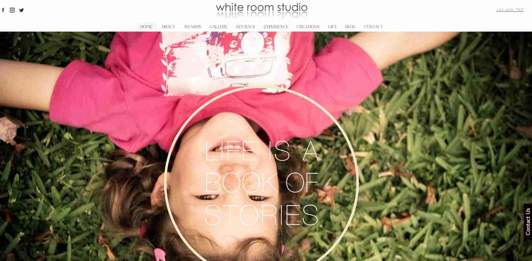 white room studios Top Portrait Photography Studios in Singapore