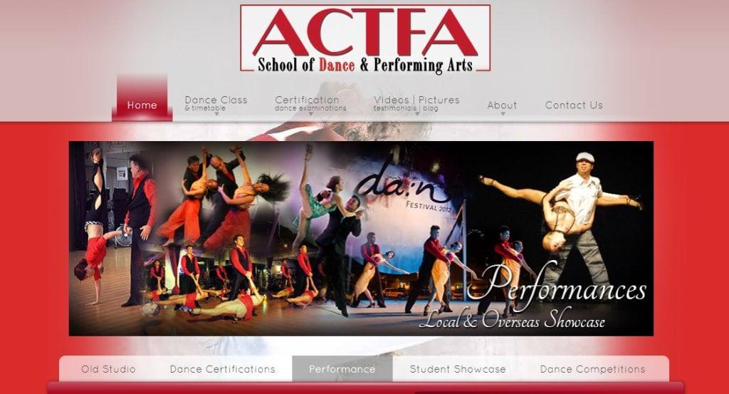 Acta Top Kids Dance Class in Singapore