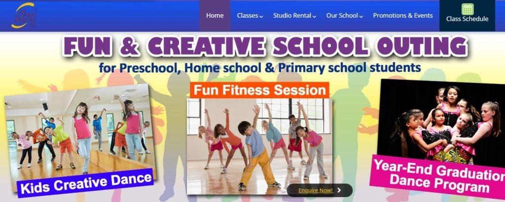 Anj Creatives Top Kids Dance Class in Singapore