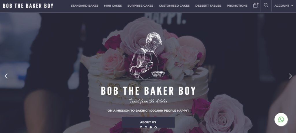 Bob the baker boy Top Cupcake Deliveries in Singapore