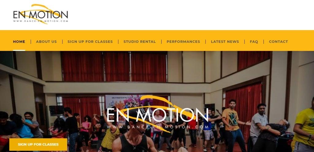 Dance En Motion Top Adult Dance Classes in Singapore