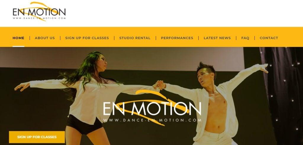 Dance En Motion Top Kids Dance Class in Singapore