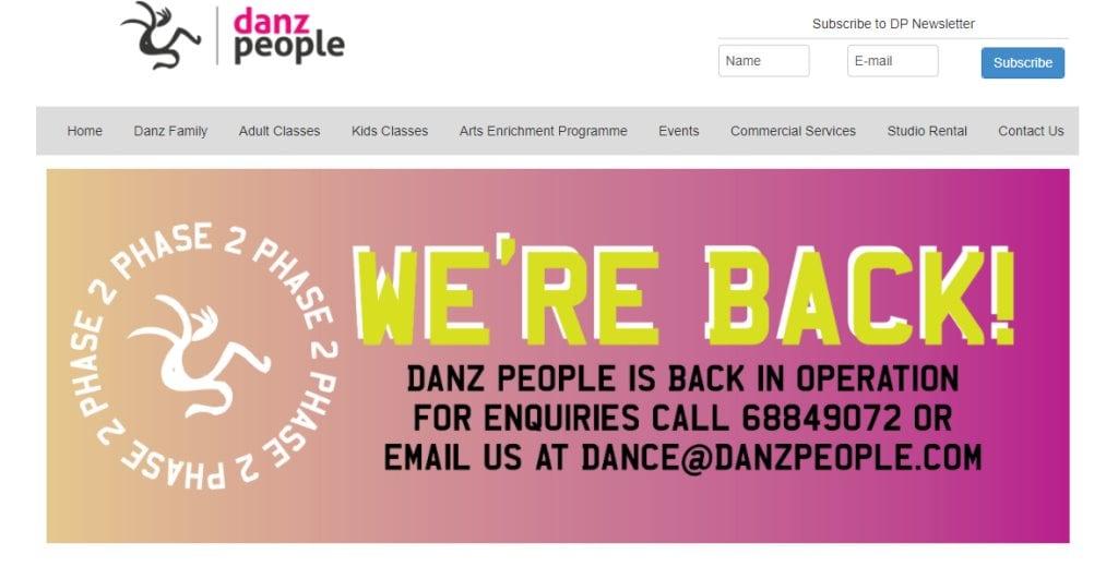 Danz People Top Kids Dance Class in Singapore