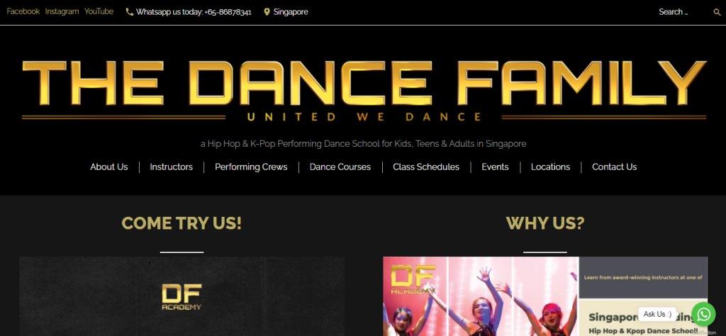 Df Academy Top Kids Dance Class in Singapore