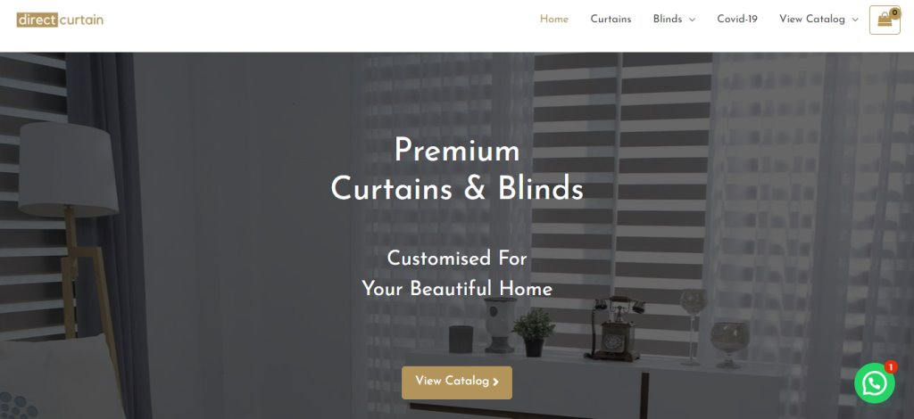 Direct Curtain Top Blinds Stores in Singapore