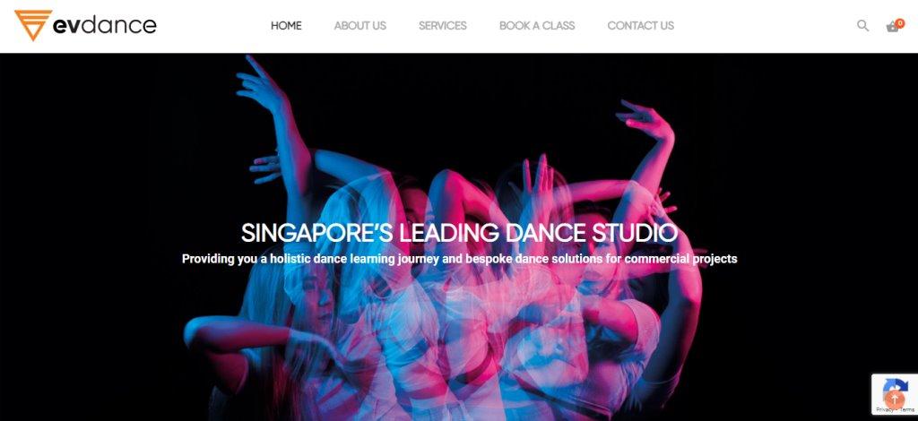 EV Dance Top Kids Dance Class in Singapore