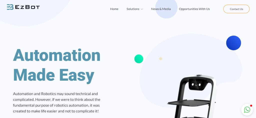 EZ Bot Top Automation Service Providers in Singapore