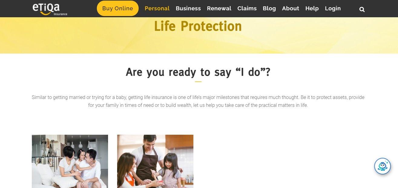 Etiqa Top Term Insurance Providers in Singapore