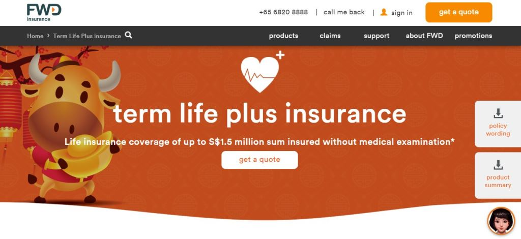 FWD Top Term Insurance Providers in Singapore