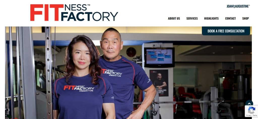 Fitness Factory Top Bodybuilding Gyms in Singapore