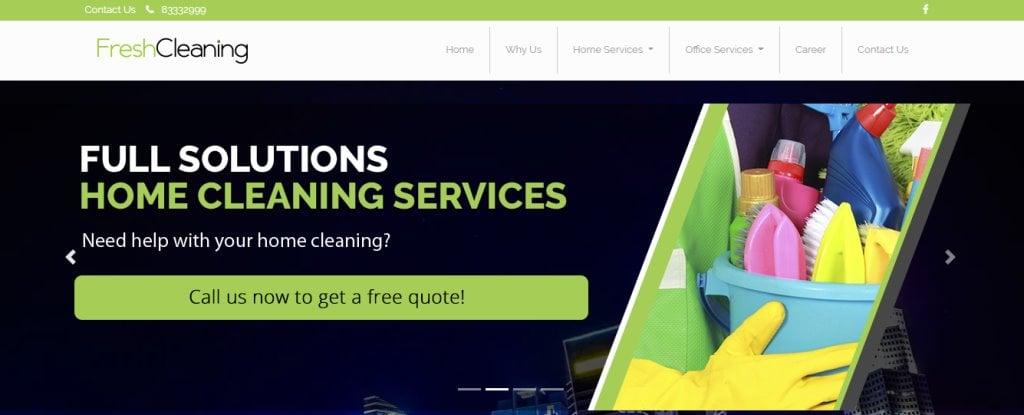 Fresh Cleaning Top Housekeeping Agencies in Singapore