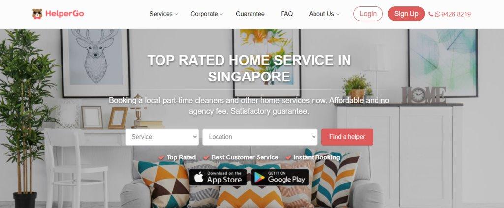 Helper Go Top Housekeeping Agencies in Singapore