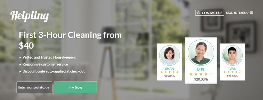 Helpling Top Housekeeping Agencies in Singapore