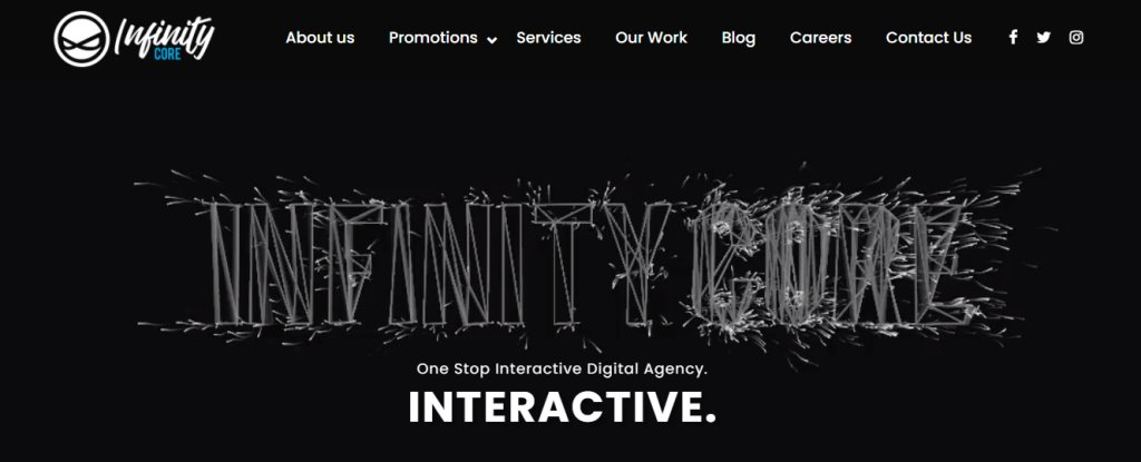 Infinity Core Top Augmented Reality Service Providers