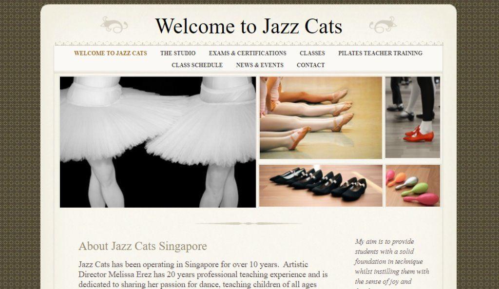 Jazz Cats Top Kids Dance Class in Singapore