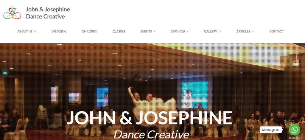 John Josephine Top Kids Dance Class in Singapore