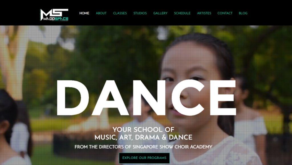 Madd Space Top Kids Dance Class in Singapore