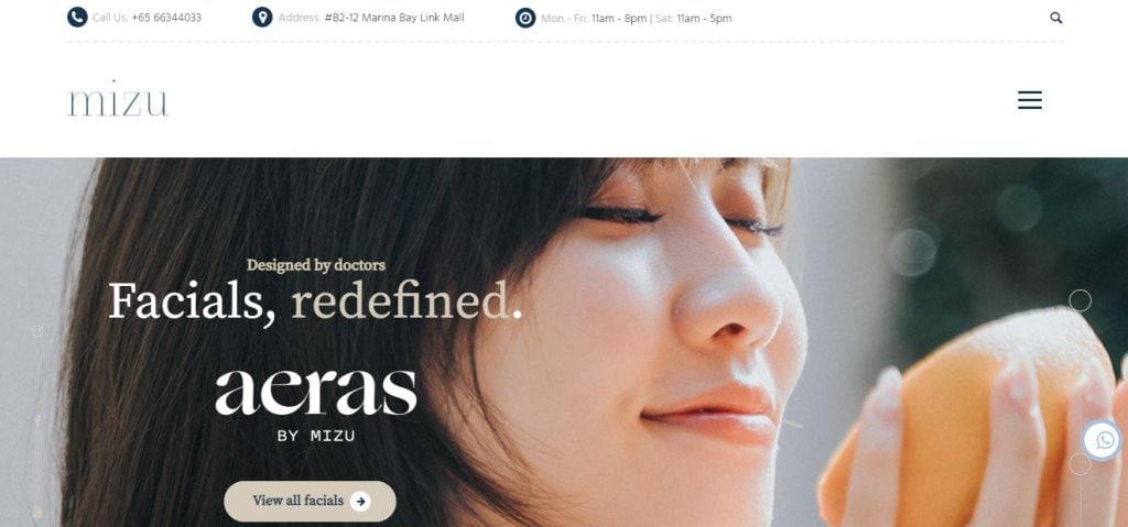 Mizu Aesthetic Top Skinboosters Clinics in Singapore