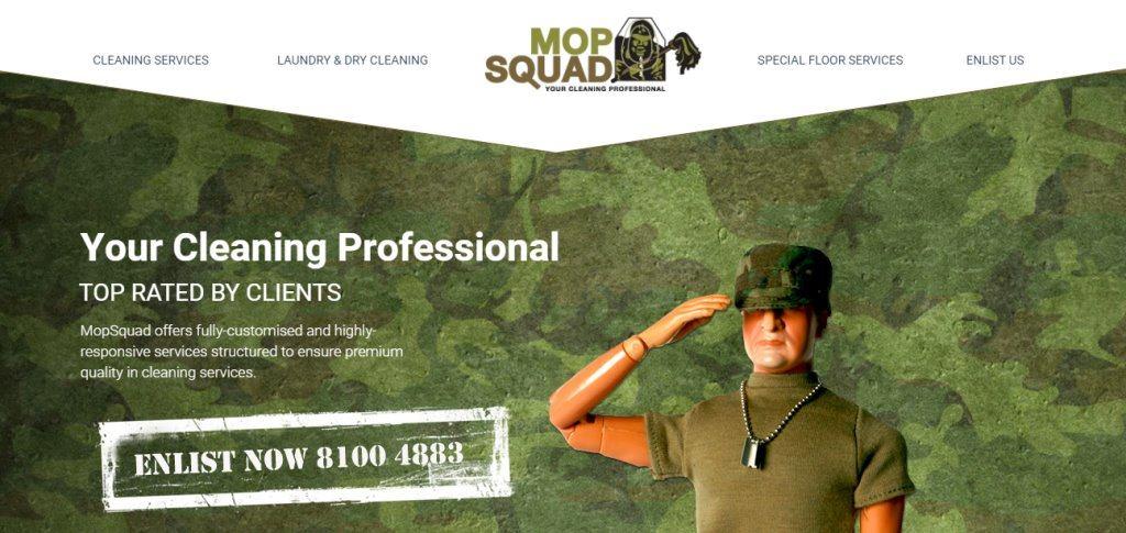 Mop Squad Top Housekeeping Agencies in Singapore