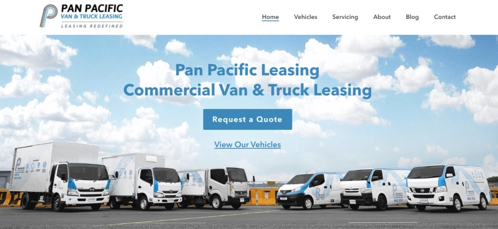 Pan Pacific Top Truck Rental Companies in Singapore