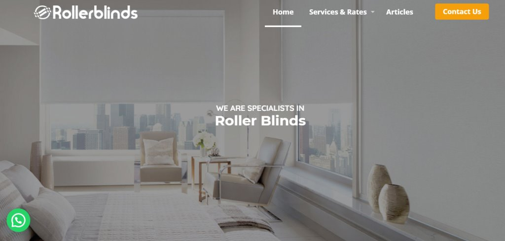 Roller Blinds Top Blinds Stores in Singapore