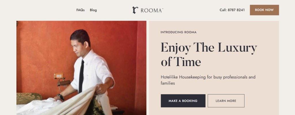 Rooma Top Housekeeping Agencies in Singapore