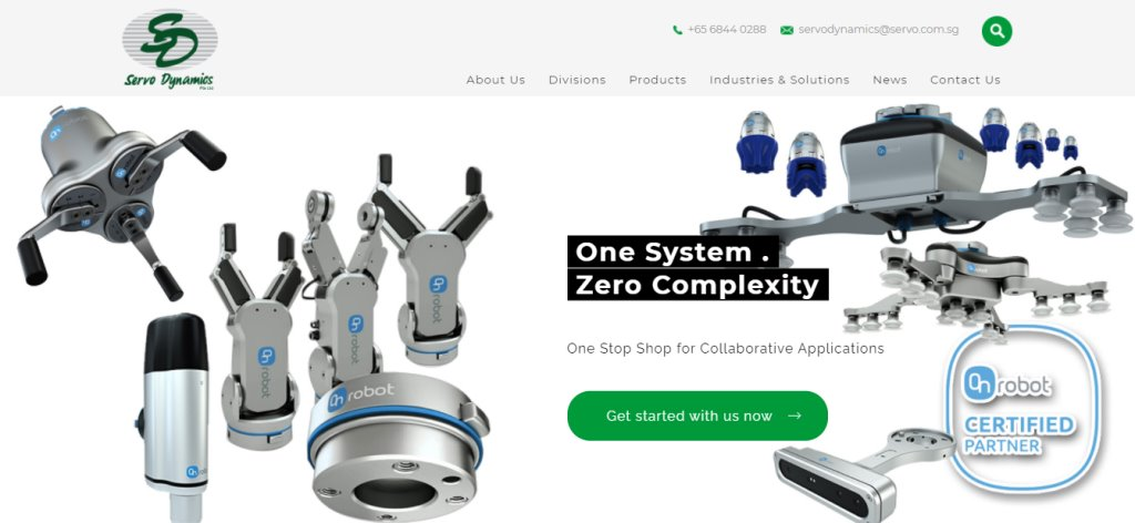 Servo Top Automation Service Providers in Singapore