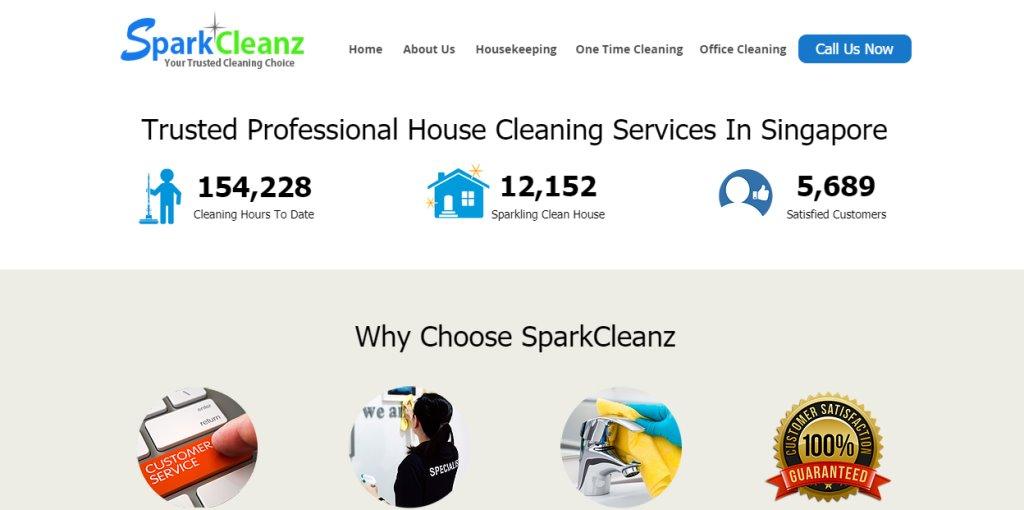 Spark Cleanz Top Housekeeping Agencies in Singapore