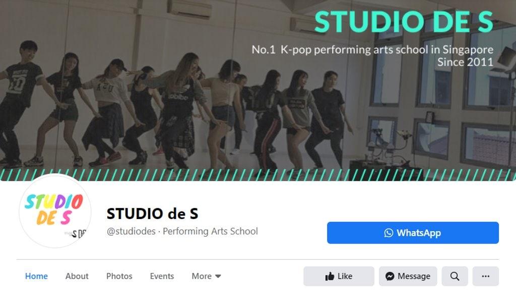 Studio de S Top Adult Dance Classes in Singapore