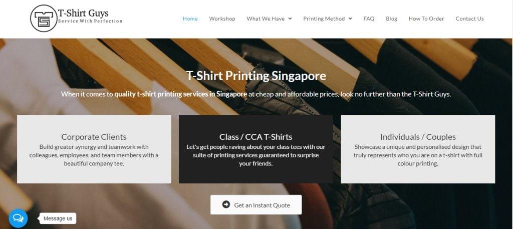 T-shirt Guys Top T-Shirt Design Stores in Singapore