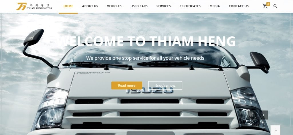 Thiam Heng Top Truck Rental Companies in Singapore