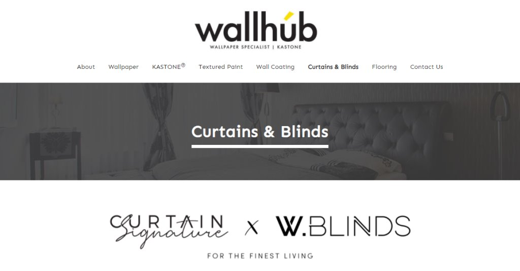 Wall Hub Top Blinds Stores in Singapore