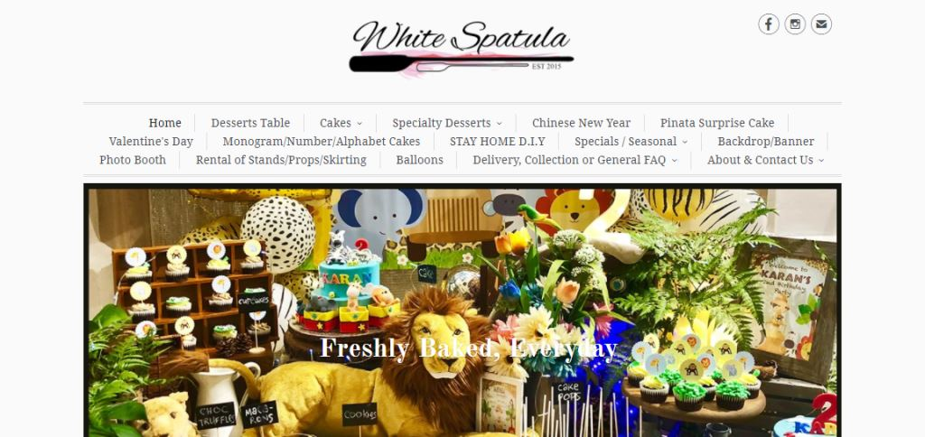 White Spatula Top Cupcake Deliveries in Singapore