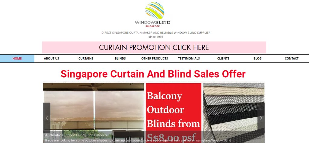Window Blind Top Blinds Stores in Singapore