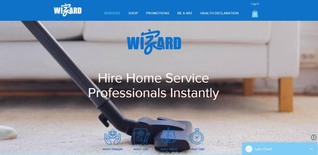 Wizard Top Housekeeping Agencies in Singapore
