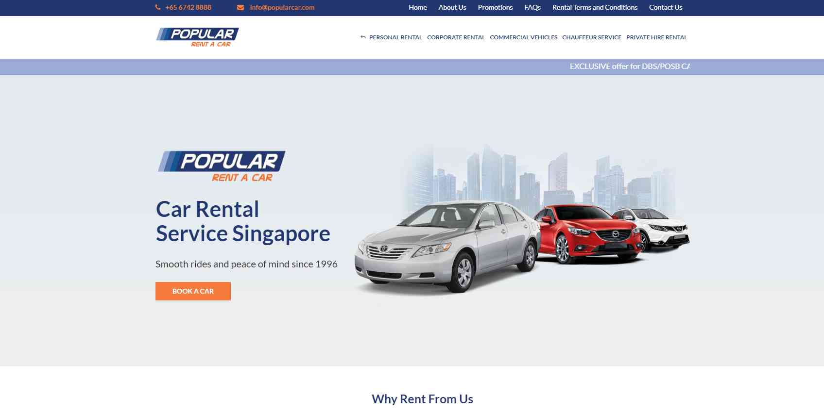 popular Top Van Rental Service Providers in Singapore