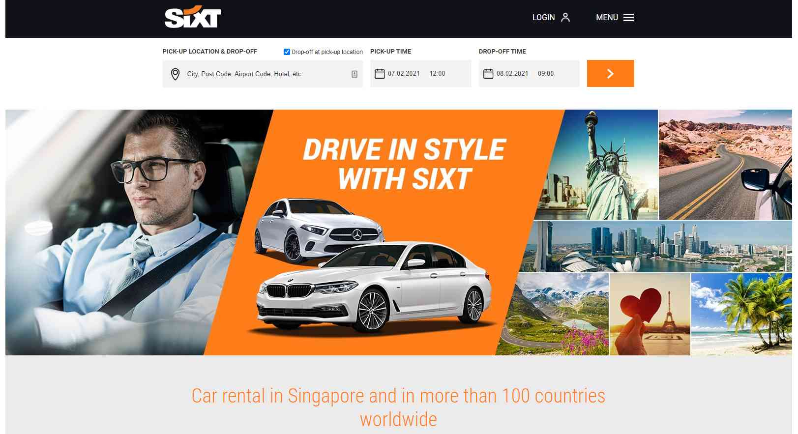 sixt Top Van Rental Service Providers in Singapore