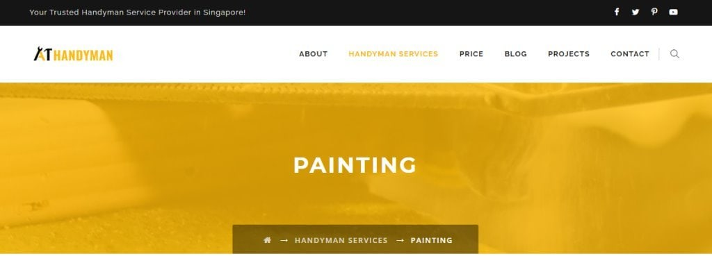 A1 Handyman Top House Painting Services in Singapore