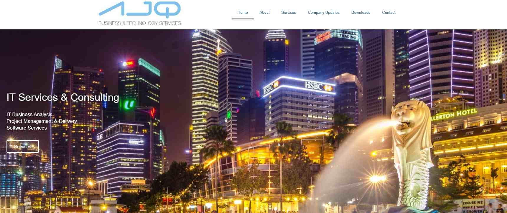 AJQ Top Digitalization Service Providers in Singapore