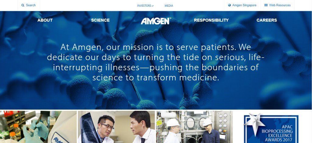 AMGEN Top Biomedical Engineering Service Providers in Singapore