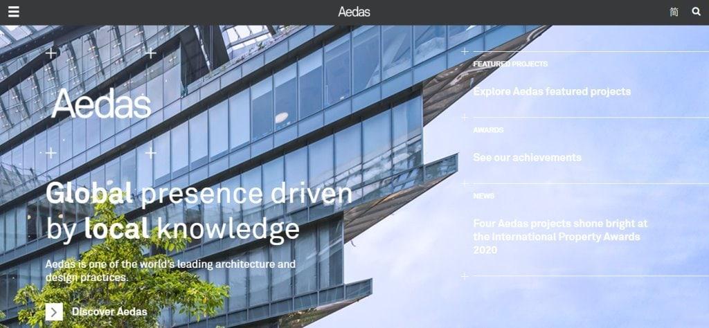 Aedas Top Architecture Firms in Singapore
