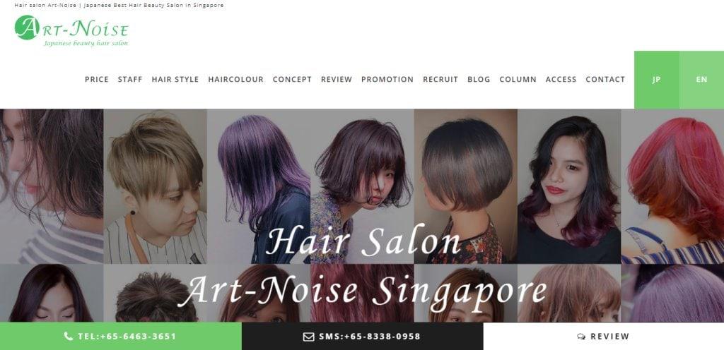 Art-Noise Top Soft Rebonding Salons in Singapore