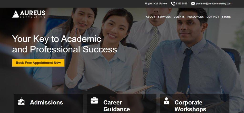 Aureus Consulting Top Career Counselling Agencies in Singapore