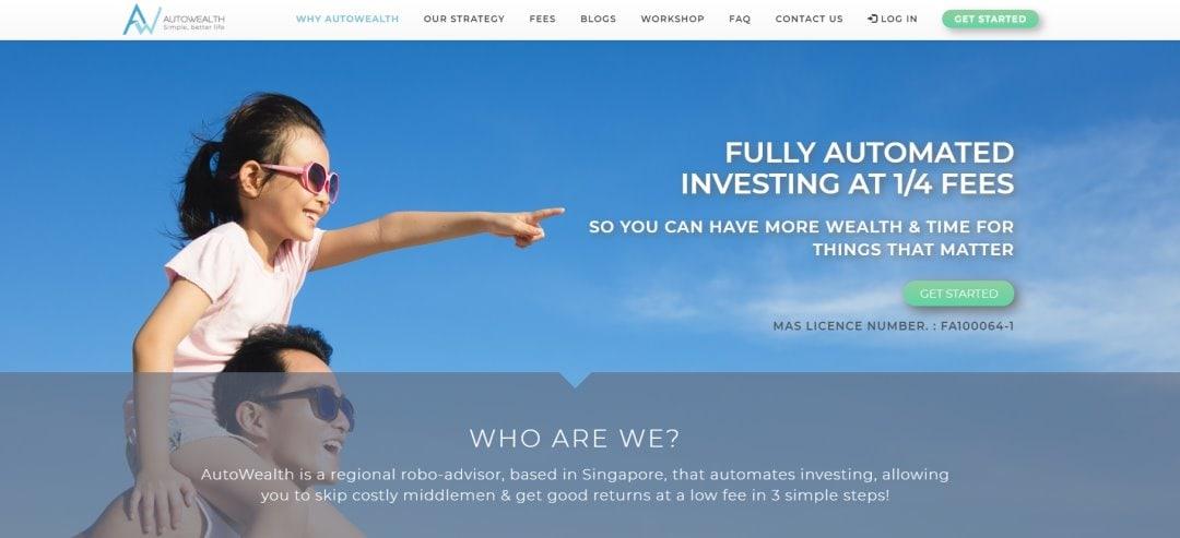 Autowealth Top Robo-Advisory Platforms in Singapore