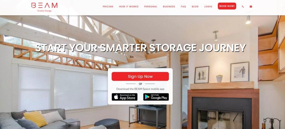 Beam Top Storage Space Rental in Singapore